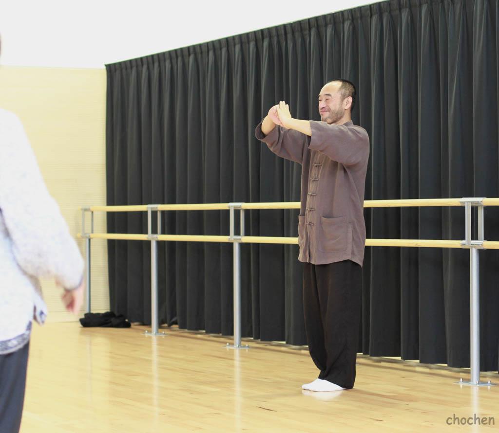 Maître Liu Deming à Parthenay