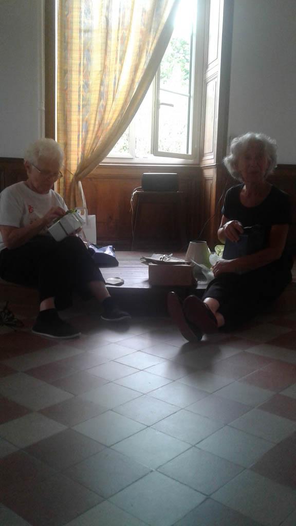 Ingrid Malenfant et Marielle