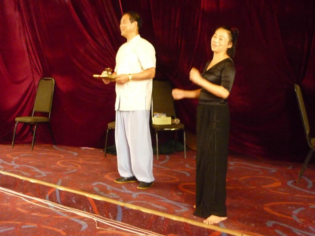 Maître Ke Wen avec Maître Yu Ding Hai