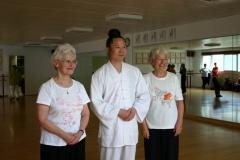 Ingrid Malenfant, Yuan Li Min, Françoise Lebeau