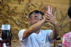 Maître Liu Deming en Chine 2017, nous apprenant à compter en chinois