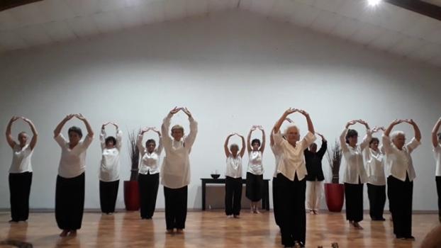 Démonstration de Hui Chun Gong à Lembrun